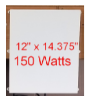 150 watt Infrared Heat Panel